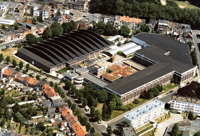 aerial photo Flanders Hydraulics Research